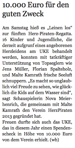 Hamburger Wochenblatt 28.7.2017 HerzPiraten